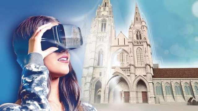Réalité virtuelle de l'abbaye Saint-Jean-des-Vignes