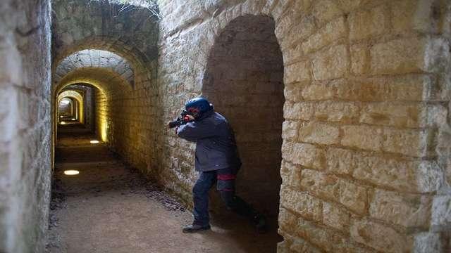 Laser Game au fort de Condé