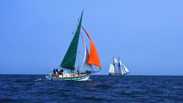 L'île de Batz, la Baie de Morlaix à la voile