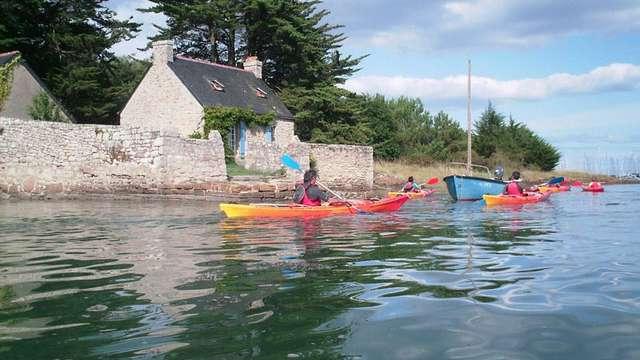 Balade kayak bigoudène