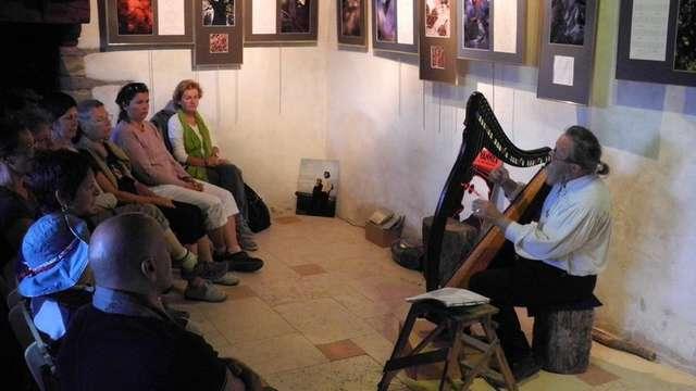 Veillée de Samain contée par Ozégan et ses instruments