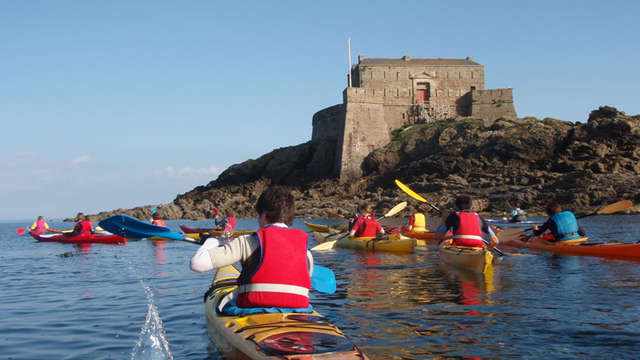 Corsaires Malouins section kayak de mer