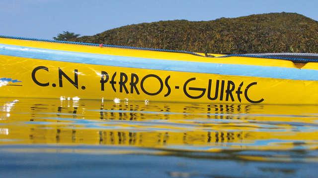 Rando kayak à Perros Guirec