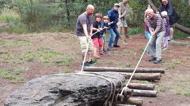 Les Ateliers Préhisto : Déplacez un menhir
