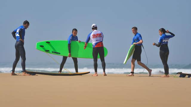 Ecole Française de surf Max Respect Contis