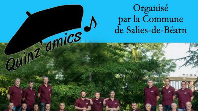 Concert du choeur d'hommes Quinz'Amics