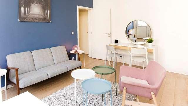 Appartement Châtelain, logement meublé