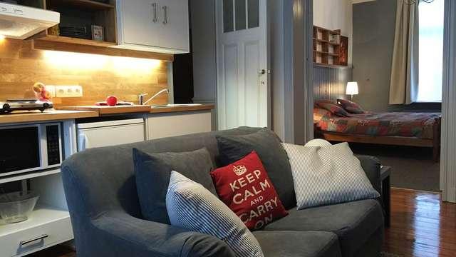 La maison rouge, appartement meublé