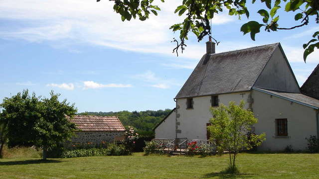 Location Gîtes de France - CHATELUS MALVALEIX - 7 personnes - Réf : 23G595