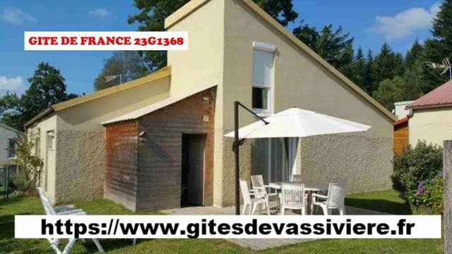 Location Gîtes de France - ROYERE DE VASSIVIERE - 6 personnes - Réf : 23G1368