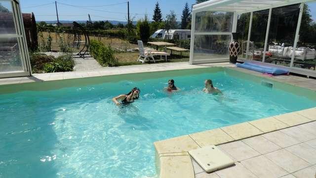 Chambres d'hôtes Gîtes de France - PIONNAT - 4 chambres - Réf : 23G0910