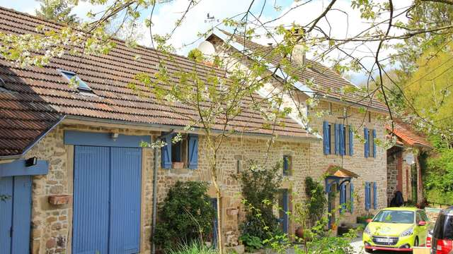 Chambres d'hôtes Gîtes de France - SAINT MARC A LOUBAUD - 3 chambres - Réf : 23G0669