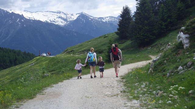 Promenade confort : Vallon de l'Orgère