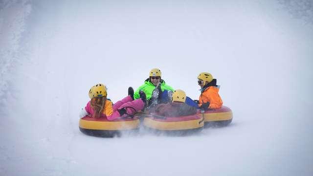 Winterparc - Bouées sur neige