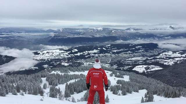 Cours de Snowboard avec l'ESF au Collet d'Allevard