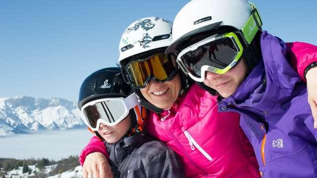 Week-end ski à petit prix dans les stations villages du Champsaur
