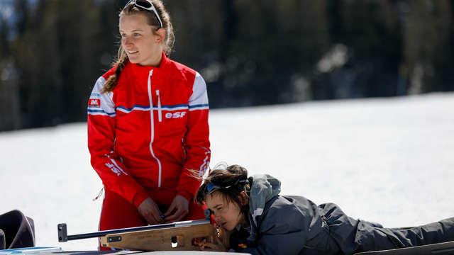 ESF de St-Léger-les-Mélèzes - biathlon