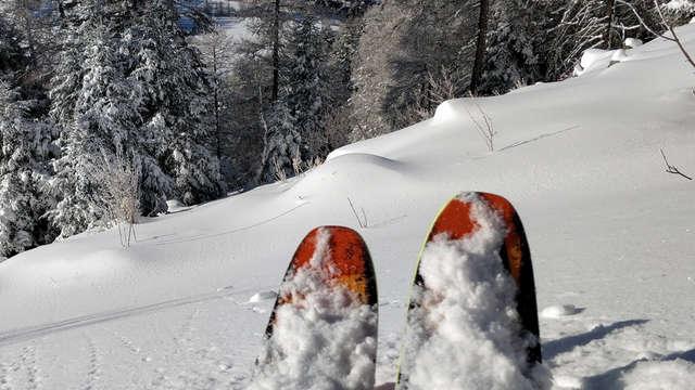 ESF de St-Léger-les-Mélèzes - ski alpin