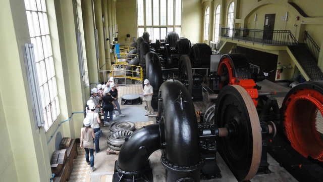 Hydroelectric power plant of Avrieux and Villarodin : guided visit