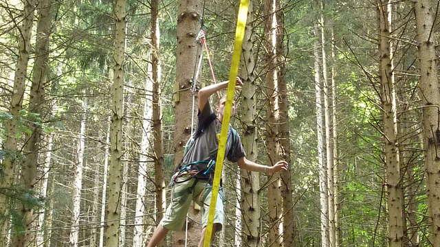 Banzai aventure, Accrobranche et archery game