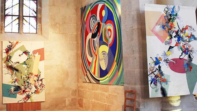 Exposition de tapisseries de l'église du château