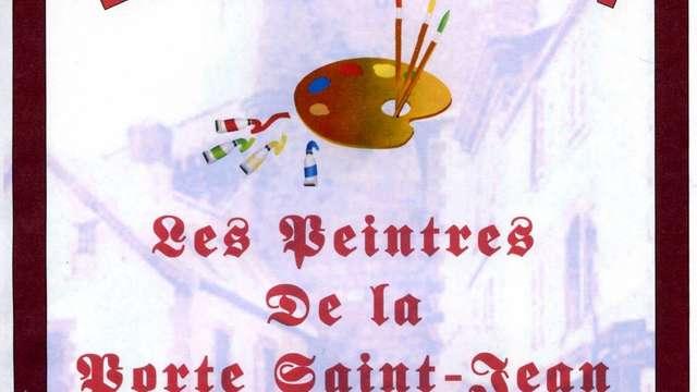 Démonstration des peintres de la Porte Saint Jean