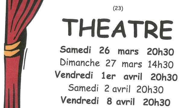Théatre représentation de la  pièce 'T'emballe pas' de Christian Rossignol