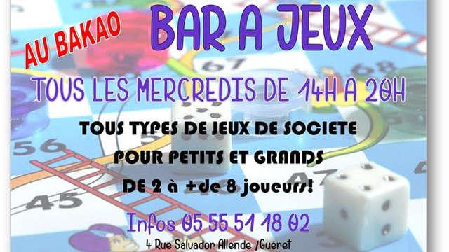 Bar à jeux au Bakao
