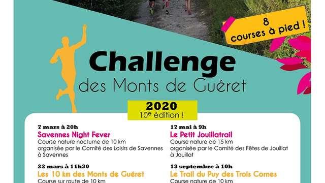 Trail :'Le Puy des 3 Cornes'