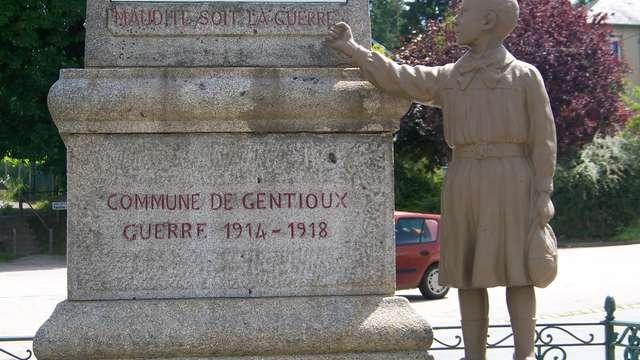 Monuments aux morts de Gentioux