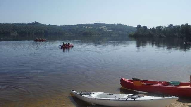 Rallye nature famille en canoë sur le Lac de Vassivière