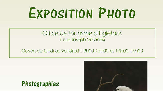 Exposition photographiques de Pierre Soulier et Christian Vialle