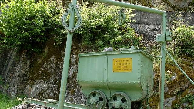 Les mines  d'or du Châtelet