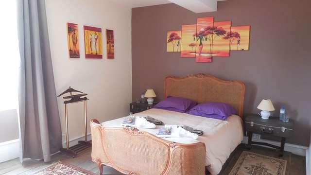 Chambre d'hôtes Clévacances 'la maison du Docteur Bona' - chambre africaine