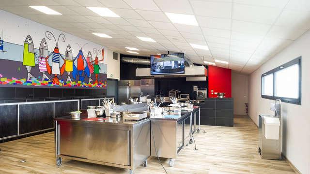 Atelier de cuisine à l'Hatelier - Tacaud et palourdes roses des Glénan