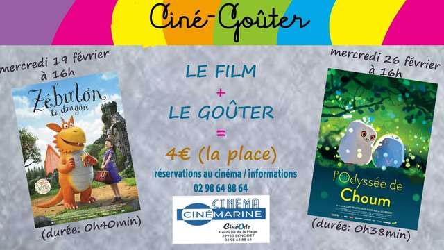 Les ciné-goûters du Cinémarine - L'Odyssée de Choum