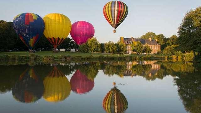 CAVOK&co - Vol en montgolfière