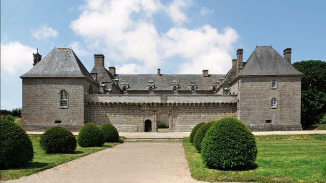 Château et jardins de Kergroadez