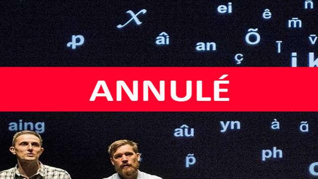ANNULÉ - Conférence Spectacle - La Convivialité