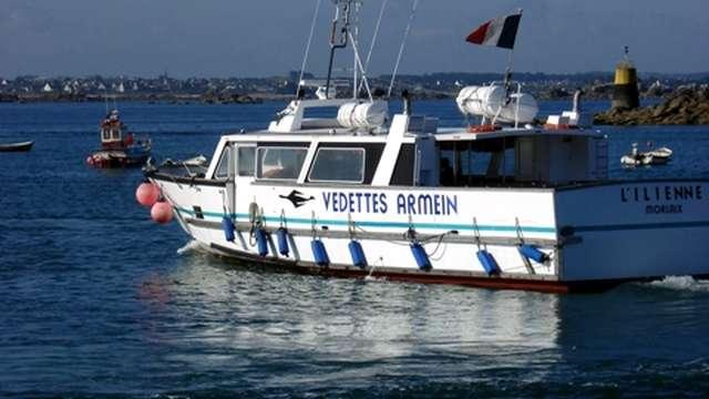 Excursion en bateau dans la baie de Morlaix
