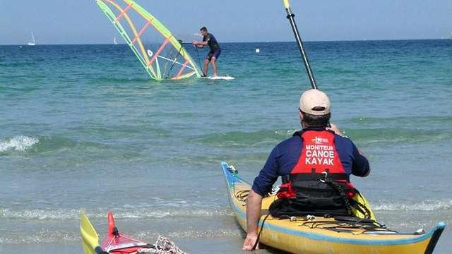 Kayak autour des îles
