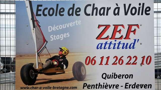 Zef Attitud' Ecole de Char à Voile