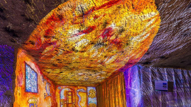 Espace Scénographie - Caves Monmousseau