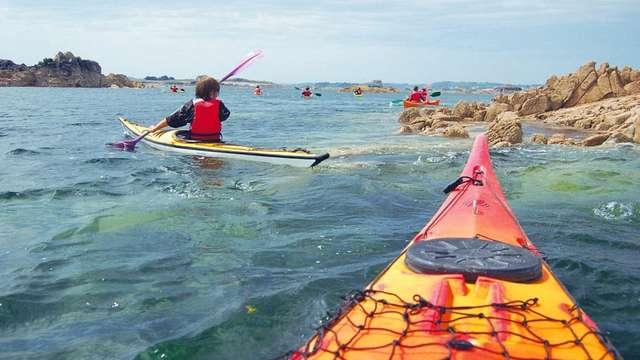 L'archipel de Plougrescant en kayak de mer