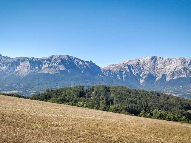 Charbillac & La Motte le long des canaux d'irrigation