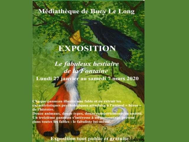 Exposition : Le fabuleux bestiaire de la Fontaine