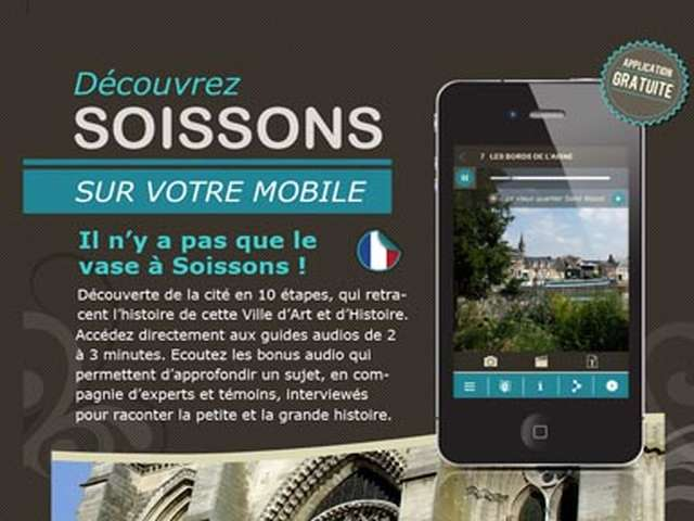 Visite audio-guide : Soissons visite