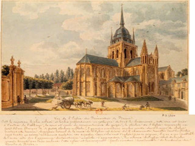 « Braine au temps des estampes romantiques, fin 18ème,19ème s. châteaux et abbaye retrouvés»
