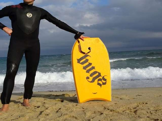 Bodyboard coupe d'Europe