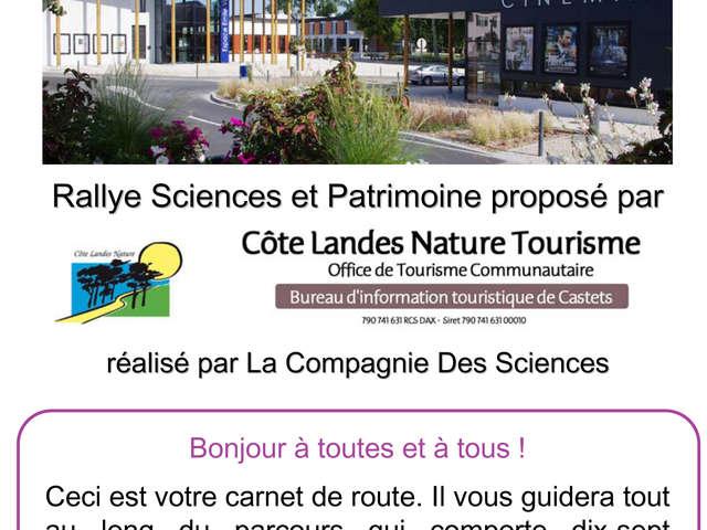 Rallye sciences et patrimoine